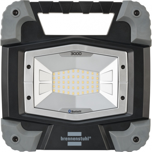 Projecteur LED TORAN portable, connecté en Bluetooth®, 3000 lumen, 5m de câble H07RN-F 2x1,0 (IP55,30 W)