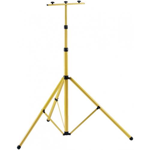 Trépied extensible à 3m de haut (stable, robuste, peut accueillir 2 projecteurs jusqu'à 500W, 1000W et projecteur LED)