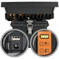 Projecteur LED CHIP portable rechargeable IP54 30W 2250lm avec batterie et port USB