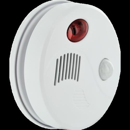 Système de sécurité de plafond avec détecteur de mouvement intégré et télécommande radio