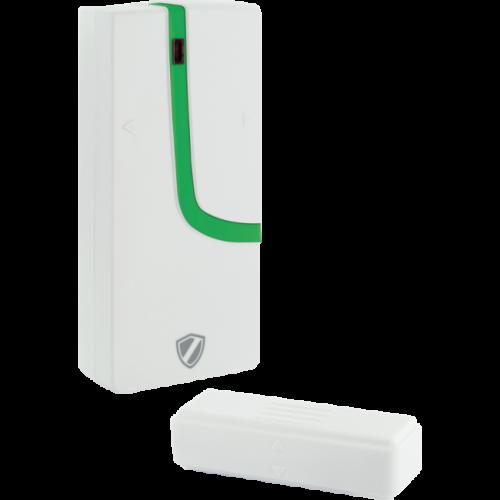 """Capteur magnétique de porte ou fenêtre coulissante pour le système """"Green Guard"""""""