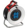 Enrouleur de câble Garant S IP44 40m H07RN-F 3G2,5, tambour en tôle d'acier galvanisé