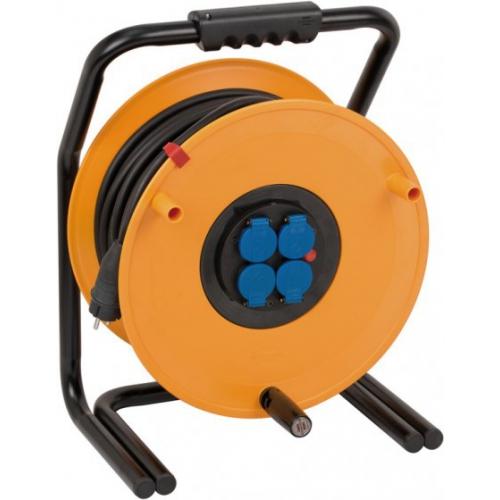 Enrouleur de câble industrie/chantiers Brobusta IP44 50m H07RN-F 3G2,5