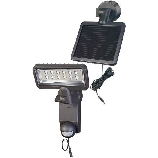 Projecteur LED Solaire Premium SOL SH1205 P2 IP44 avec détecteur de mouvements infrarouge