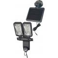 Projecteur LED Solaire DUO Premium SOL SV0805 P2 IP44 avec détecteur de mouvements infrarouge 8xLED 0,5W