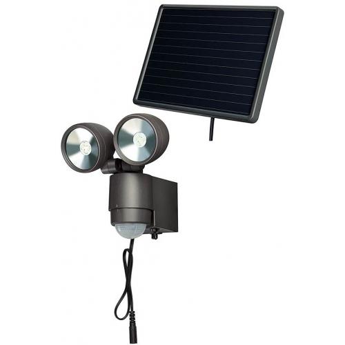 Lampe LED-Spot solaire SOL 2x4 IP44 avec détecteur de mouvements infrarouge