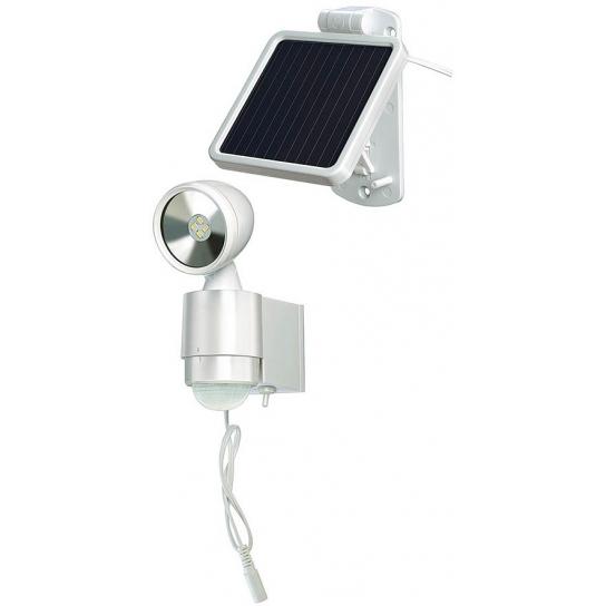 Lampe LED-Spot Solaire SOL 1x4 IP44 avec détecteur de mouvements infrarouge 4xLED 0,5W
