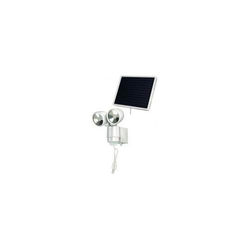 Lampe LED-Spot solaire SOL 2x4 IP44 avec détecteur de mouvements infrarouge 8xLED 0,5W