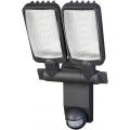Lampe LED Solaire DUO Premium SOL LV0805 P2 IP44 avec détecteur de mouvements infrarouge 8xLED 0,5W