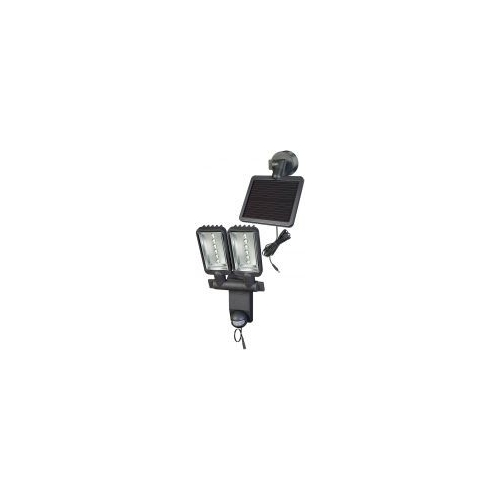Projecteur LED Solaire DUO Premium SOL SV1205 P2 IP44 avec détecteur de mouvements infrarouge 12xLED 0,5W