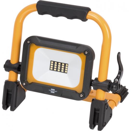 Projecteur LED JARO portable, rechargeable, 1000 lumen, 10W, IP54, max. 14h d'autonomie, orientable
