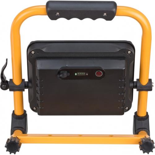 Projecteur LED JARO portable, rechargeable, 3000 lumen, 30W, IP54, max. 14h d'autonomie, orientable